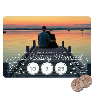 Sweet Spot Scratch Off Save The Date Magnets 01