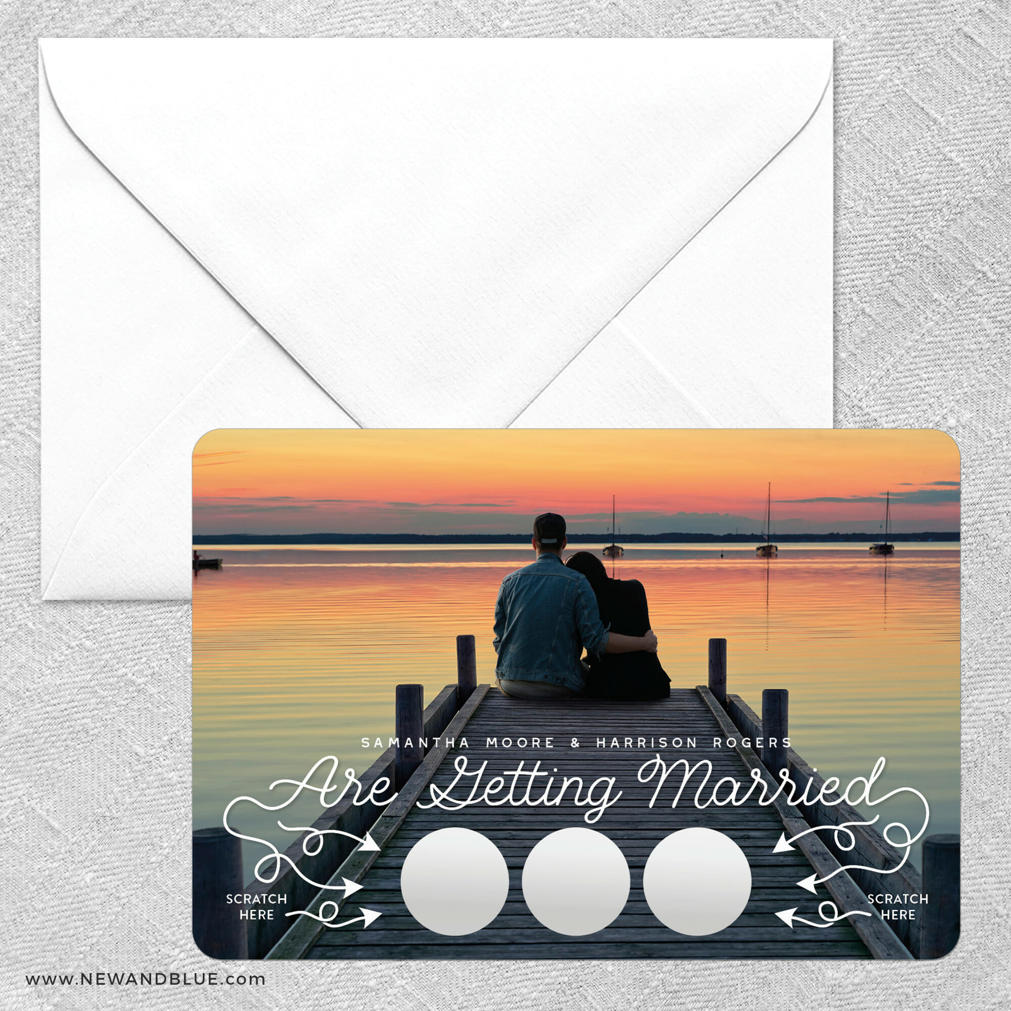 Sweet Spot Scratch Off Save The Date Magnets 05 Classic Size