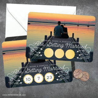 Sweet Spot Scratch Off Save The Date Magnets 10 Personalize With Your Photo Colors And Wording