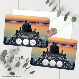 Sweet Spot Scratch Off Save The Date Magnets 14 Includes White Or Ivory Envelopes