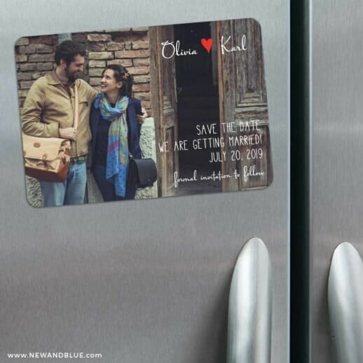 Sydney 3 Refrigerator Save The Date Magnets