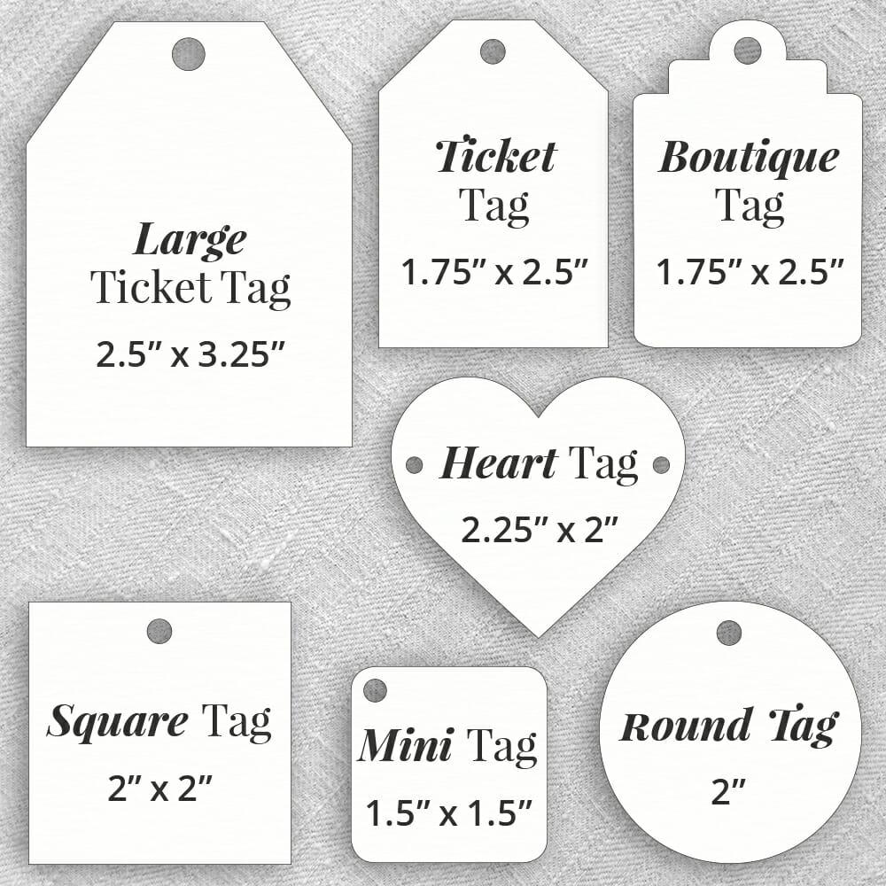 Tags Size Comparison