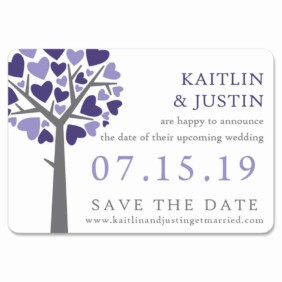 Tender Tree 1 Save The Date Magnets