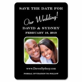 The Big Day 1 Save The Date Magnets