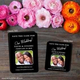 The Big Day 2 Save The Date Magnet Classic And Petite Size