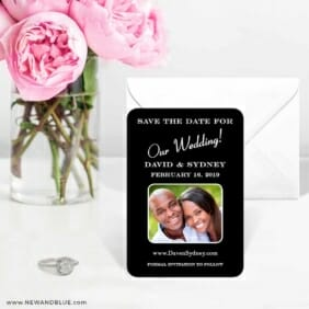 The Big Day 6 Wedding Save The Date Magnets