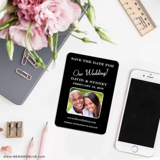 The Big Day 7 Wedding Save The Date Magnets