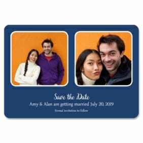 These Two 1 Save The Date Magnets