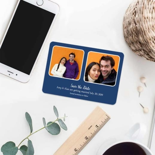 These Two 7 Wedding Save The Date Magnets