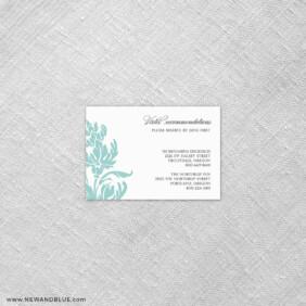 Thistle 7 Reception Card