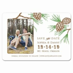 Timberline 1 Save The Date Magnets