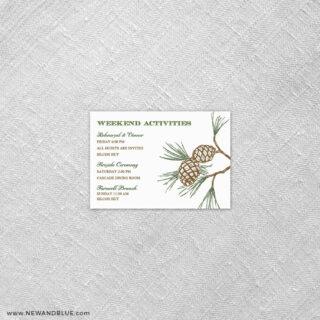 Timberline 7 Reception Card
