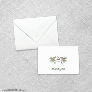 Timberline 8 Thank You Card