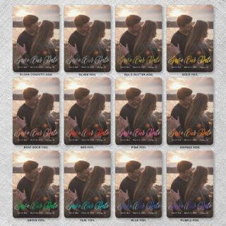 Together Forever 9 12 Foil Color Options