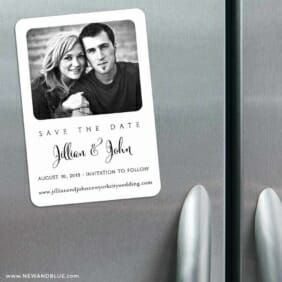 Tribeca 3 Refrigerator Save The Date Magnets