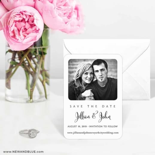 Tribeca 6 Wedding Save The Date Magnets