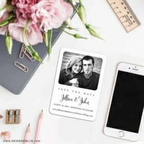 Tribeca 7 Wedding Save The Date Magnets