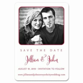 Tribeca 1 Save The Date Magnets