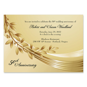 Triumph Wedding Invitation