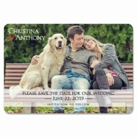 True Love 1 Save The Date Magnets