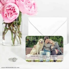 True Love 6 Wedding Save The Date Magnets