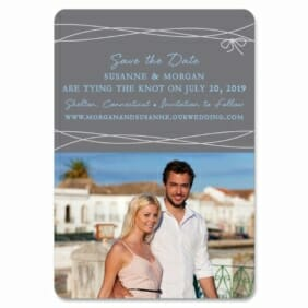 Tying The Knot 1 Save The Date Magnets