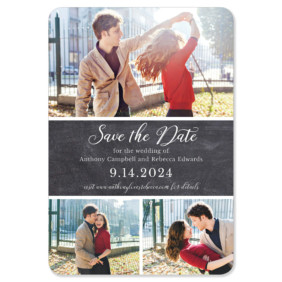 Union Square Wedding 1 Save The Date Magnets