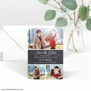 Union Square Wedding 3 Save The Date Magnet With Envelope