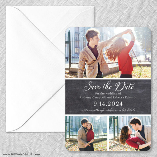 Union Square Wedding Magnet Size Classic