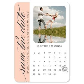 United Calendar 1 Save The Date Magnets
