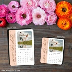 United Calendar 2 Save The Date Magnet Classic And Petite Size