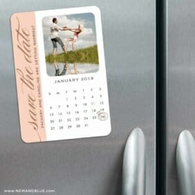 United Calendar 3 Refrigerator Save The Date Magnets