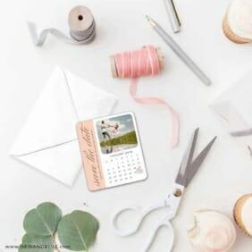 United Calendar 4 Petite Size Magnet