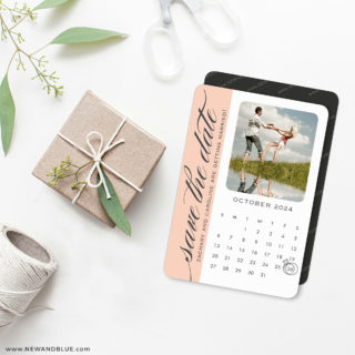 United Calendar 4 Wedding Magnet
