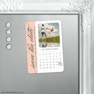 United Calendar 5 Save The Date Fridge Magnet