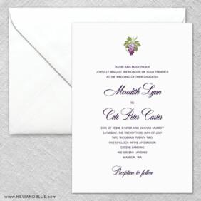Veneto 2 Invitation And Envelope