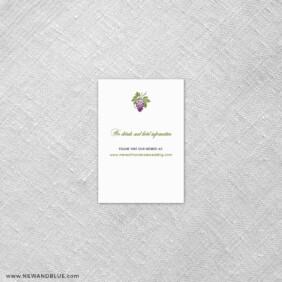 Veneto 7 Reception Card