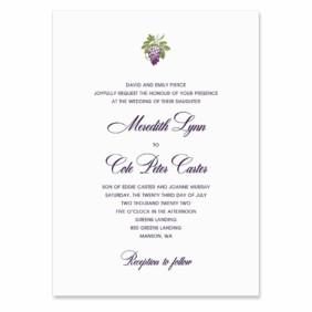 Veneto Wedding Invitation