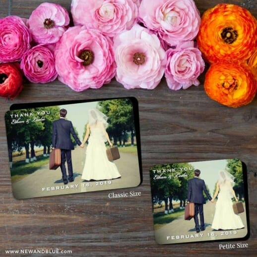 Wedding Cheer 2 Save The Date Magnet Classic And Petite Size