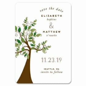 Wedding Tree 1 Save The Date Magnets