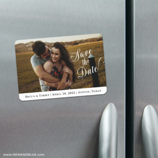 Whole Heart 4 Refrigerator Save The Date Magnets