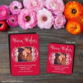 Wonderful Time Of The Year 2 Save The Date Magnet Classic And Petite Size