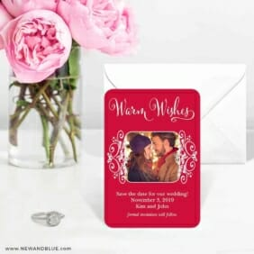 Wonderful Time Of The Year 6 Wedding Save The Date Magnets