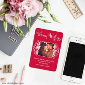 Wonderful Time Of The Year 7 Wedding Save The Date Magnets